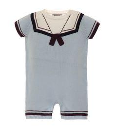 Sailor Sweater Romper | Hartstrings