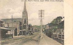 St Peter's church Upper Willis Street, Wellington St Peter's Church, Capital City, New Zealand, Paris Skyline, Street, Gallery, Photos, Photography, Travel
