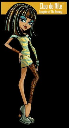 Monster High- Cleo de nile