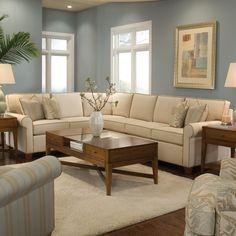 2043 Sectional Sofa By Huntington House