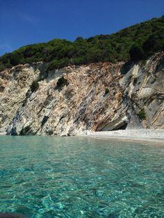 Stunning Zaganas beach, Meganisi