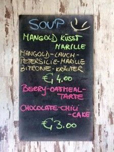 Donnerstag, 9. Juli 2015 Chocolate Cherry Cake, Soup, Green, Juni, Pie, Friday, Soups