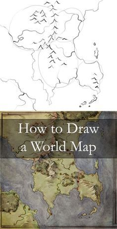 Building a map can be a great way to build a world - this tutorial walks through 6 steps from the first outline idea to an fully fledged world.