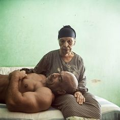 Denis Dailleux - Egypt, Mother and Son /// World Press 2014