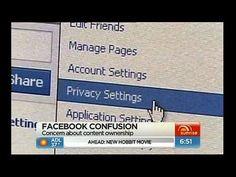 Facebook privacy confusion Facebook Content, About Facebook, Social Media Privacy, Confusion