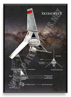 Skyhopper, Star Wars Poster