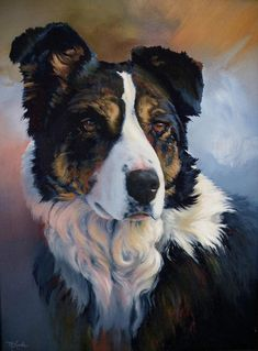 Trudy Painting by Mia DeLode - Trudy Fine Art Prints and Posters for Sale
