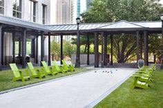 Empire State South: the bocce court