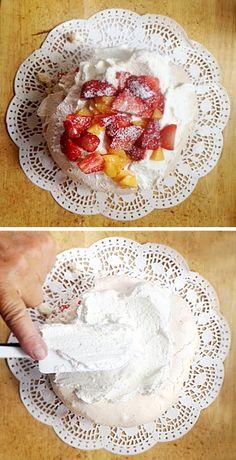 Recept na dort Pavlova - dietní - bezlepkový - DIETA.CZ