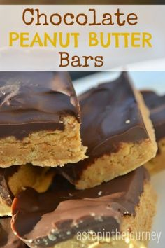 Chocolate Peanut Butter Bars.....AMAZING!! A delicious NO BAKE recipe perfect for your next get together!