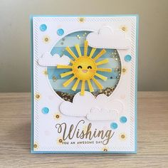 Birthday card, thinking of you card