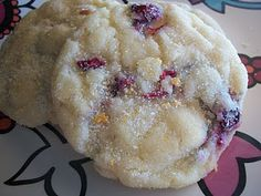 cranberry orange soft cookies