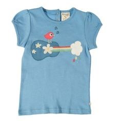 With pretty gathered sleeve detail, and back neck poppers for easy changing, girls will love to wear this super soft t-shirt. Made from organic cotton which will be lovely and soft next to their skin. Fashionista Kids, Uk Brands, Shirt Blouses, T Shirt, Mini Boden, Summer Sale, Organic Cotton, Kids Outfits, Mens Tops