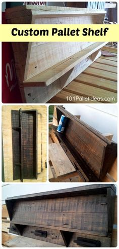 fc63ed7600bd Custom Pallet Shelf - Stevensville Pallet Project