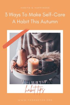 Looking to build a habit of self-care this fall? Read on for 3 super implementable tips that will help you get started habit-building and practicing more self-care Self Development, Personal Development, Big Songs, The Moment You Realize, Feeling Empty, Positive Body Image, What Day Is It, What Inspires You, Mindful Living