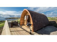 The Little Abodes Glamping Pods with Hot Tub Lochinver | Campsite The