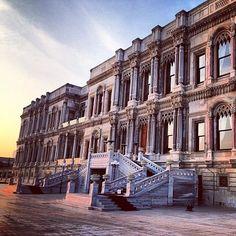 "@lefashnmonster's photo: ""My future wedding location (if that ever happens). The Çırağan Palace, once an old Ottoman Palace. Insha'Allah! #travelgram #igersturkey #wedding"""