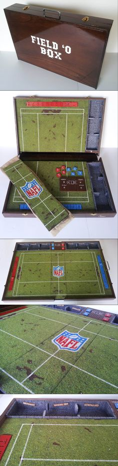 Blood Bowl Portable Field - Compact : NAFL Logo by Tannhauser Gate Studio