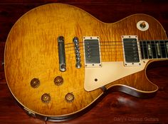 "1960 Gibson Les Paul Standard, ""Burst"" All 59' Features"