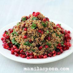 Manila Spoon: Festive Quinoa