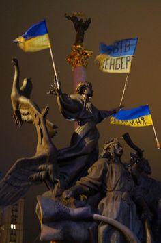 Rallies in Kyiv, Ukraine. 6th December, 2013.