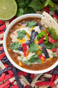 The recipe that launched 1000 requests :: Slow Cooker Chicken Tortilla Soup: