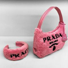 Luxury Purses, Luxury Bags, Girly Backpacks, Pink Starburst, Black Girl Fashion, Backpack Purse, Prada Bag, Handbag Accessories, Luggage Bags