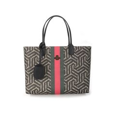 GUCCI GG 'Caleido' Shopping Tote ($1,082) ❤ liked on Polyvore featuring men's fashion, men's bags, multi, mens leather bags, mens leather tote bag and mens tote bag