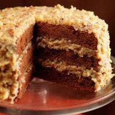 German Chocolate Cake Recipe From Scratch.The Best Homemade German Chocolate Cake Recipe. The Best Homemade German Chocolate Cake Recipe. The Best Homemade German Chocolate Cake Recipe. Home and Family Food Cakes, Cupcake Cakes, Cake Cookies, Cupcakes, Chocolat Lindt, Homemade German Chocolate Cake, National Dessert Day, Coconut Pecan Frosting, Chocolate Frosting