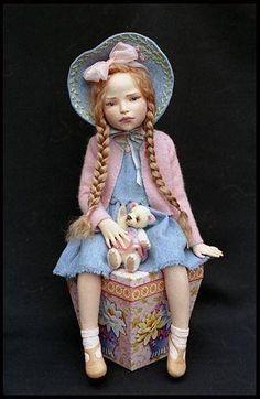 Art doll by Dale Zentner