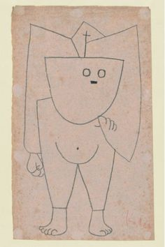 """austinkleon: """"Paul Klee Drawings """"The relationship between Klee and myself is that we are both children who never stopped drawing."""" —Saul Steinberg """""""