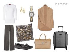 Packing: Camel, grey, & scarves | The Vivienne Files  such a pretty combination