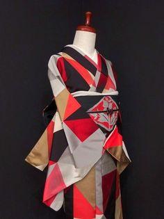 Yukata Kimono, Kimono Fabric, Japanese Outfits, Japanese Fashion, Classy Closets, Sash Belts, Japanese Kimono, Kimono Fashion, Fabric Patterns