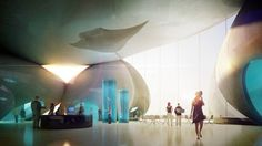 Henning Larsen Architects wins Batumi Aquarium in Georgia Inspired by the characteristic pebbles continually shaped by the wash of the waves of the Batumi beach the building stands out as an iconic rock formation visible from both land and sea Aquarium Architecture, Futuristic Architecture, Architecture Diagrams, Organic Architecture, Building Architecture, Classical Architecture, Landscape Architecture, Building Design, Henning Larsen