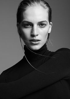 Vanessa Axente model minimal style for Supernation by Zoltan Tombor