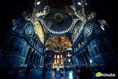 Discover the best photos of Hagia Sophia in Istanbul with the help of other travelers on minube Pamukkale, Great Places, Beautiful Places, Places To Visit, Beautiful Buildings, Amazing Places, Places Around The World, Around The Worlds, Hagia Sophia Istanbul