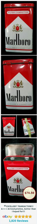 #ebay @angela082371 http://www.ebay.com/itm/VTG-Collectible-MARLBORO-Flip-Top-Cigarette-Advertising-Tin-RARE-amp-HTF-/232325976845?roken=cUgayN&nma=true&si=vD0iA35yBXyyIpbNMSYMG4XrQ%252Fk%253D&orig_cvip=true&rt=nc&_trksid=p2047675.l2557