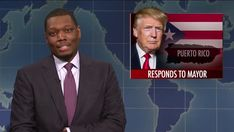 SNL's Michael Che Rips 'Cheap Cracker' Trump Over Botched Puerto Rican Response  ||  SNL's Colin Jost and Michael Che didn't pull any punches with their criticism of Donald Trump and his response to the aftermath of Hurricane Maria in Puerto Rico during the opening of their Weekend Update segment. http://crooksandliars.com/2017/10/snls-michael-che-rips-cheap-cracker-trump?utm_campaign=crowdfire&utm_content=crowdfire&utm_medium=social&utm_source=pinterest
