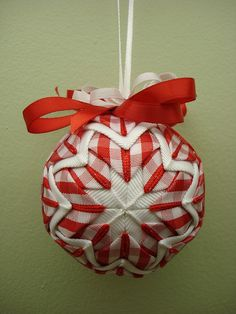 quilted christmas ornaments | Quilted Christmas Ornament | Flickr - Photo Sharing!