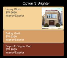 stucco color combinations | Paint Colors For Your House Exterior - Designer's Recommendations ...