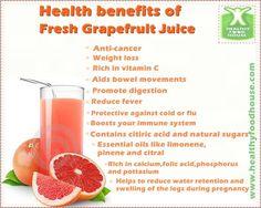 Health benefits of grapefruit juice Health Benefits Of Grapefruit, Juicing Benefits, Juice Smoothie, Fruit Smoothies, Smoothie Recipes, Vitamix Juice, Juice Recipes, Healthy Smoothies, Healthy Drinks