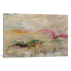 'Luxe Galaxy' by Julian Spencer Painting Print on Wrapped Canvas