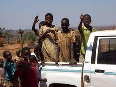 Children in Malawi, Africa