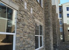 Mason's Choice - Rosegate What we love about our Harristone Mason's Choice is that for a stacked stone it shows a lot of character and you won't see a repeating pattern. It's a great product if you want the look of a rugged Ledgestone. Stone Gallery, Manufactured Stone, Repeating Patterns, Choices, This Is Us, Mountain, Outdoor Decor, Character, Home Decor