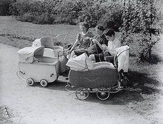 Kralingsebos. Pas vanaf 1956 mochten vrouwen werken zonder toestemming van man