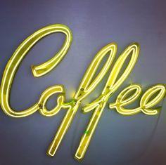 The most important meal of the day ☕ @museumofneonart  #coffee #neon #neonlight #neonart #neonsign #museumofneonart #mona #lastory #discoverla #dtla #dtla_everyday #glendale #coffeetime #coffeeshop