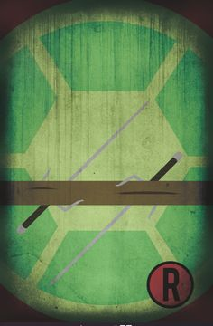 Teenage Mutant Ninja Turtles movie poster movie art by Harshness