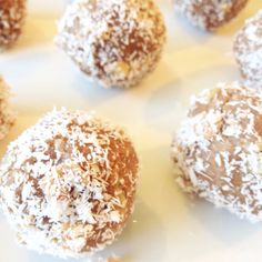 Healthy Coconut Cookie Balls, as featured on MindBodyGreen.com