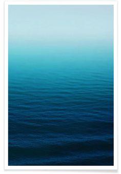 Deep Blue - Leah Flores - Premium Poster
