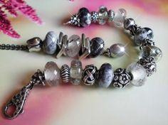 Gray.... :-) Trollbead bracelet